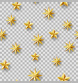 chaotic stars seamless pattern vector image