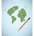 world texture vector image