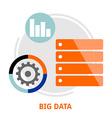 big data vector image vector image