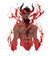 Devil Demons portrait vector image