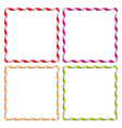 ribbons frames vector image