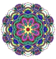 mandala circle decorative spiritual indian symbol vector image