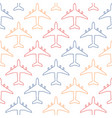 seamless pattern with colour contours of vector image