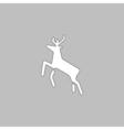 Deer computer symbol vector image