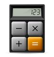 Simple calculator icon vector image vector image
