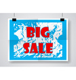 Big Sale Poster vector image