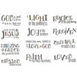 encouraging words vector image