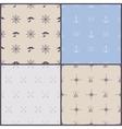 marine symbol seamless pattern vector image
