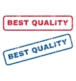 Best Quality Rubber Stamps vector image vector image