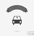 car symbol car symbol icon of transport go vector image