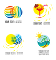 Logo vacation 1 vector image