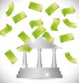 Save money design vector image