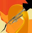 trumpet vector image vector image