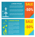 sale chemical posters vector image