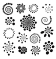 universal geometric elements vector image