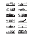 Luxury goods vehicles and property vector image