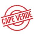 Cape Verde rubber stamp vector image