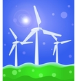 wind concept vector image
