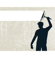 Window cleaner vector image
