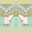 arabic palace vector image vector image