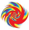 Colorful Abstract Psychedelic Art Background vector image