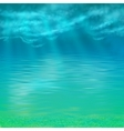 Abstract Under Water Background vector image
