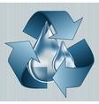 Save water blue water drop water saving vector image