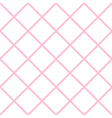 Pink White Grid Chess Board Diamond Background vector image