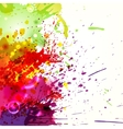Ink blots background vector image