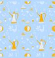 coffee pattern arabica vector image
