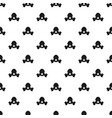 respirator pattern vector image