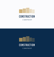 Construction logo 01 vector image