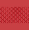 abstract red isometric background vector image