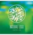 Natiral Logo 05 vector image