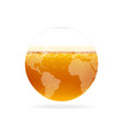 beer world vector image