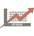 Stock Market vector image vector image