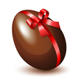chocolate egg vector image