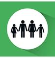 Family icon design vector image