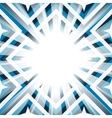 Geometric background stars and diamond shapes vector image