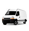 transport car vector image