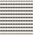 seamless tracery pattern repeated stylized vector image