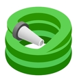 Hose isometric 3d icon vector image