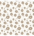 classic wallpaper seamless vintage flower pattern vector image vector image
