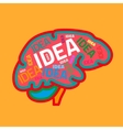Creative Brain vector image