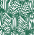 Green abstract seamless background of striped vector image
