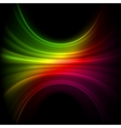Smooth technology light lines vector image