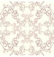 Decoration vintage element Floral style Seamless vector image
