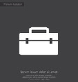 tools box premium icon vector image