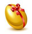 golden egg vector image vector image