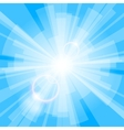 Blue Light Background vector image